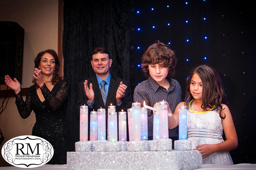 Bonaventure-Resort-and-Spa-Bar-Mitzvah-candlelight-ceremony-photo