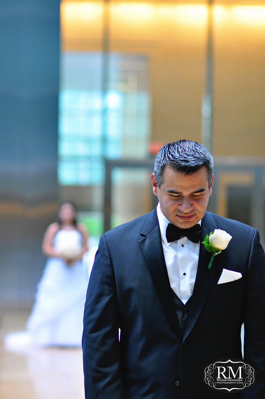 Conrad-Miami-wedding-first-look-photo