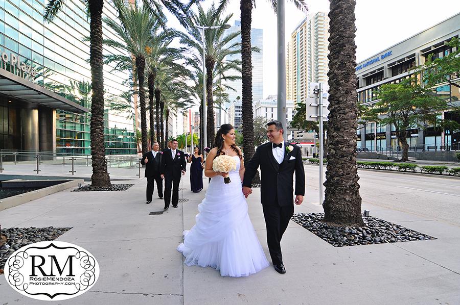 Downtown-Miami-wedding-portrait-photo