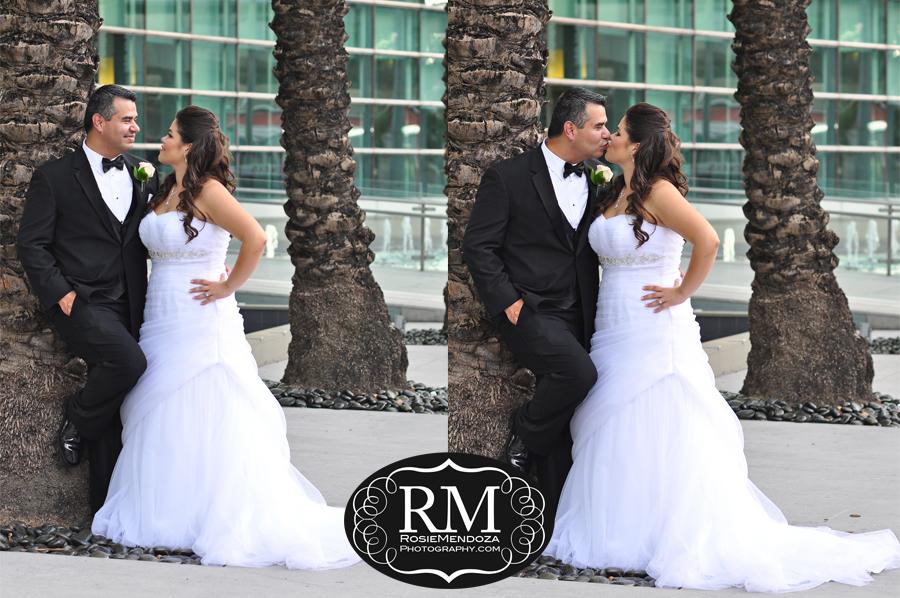Conrad-Miami-wedding-kiss-photo