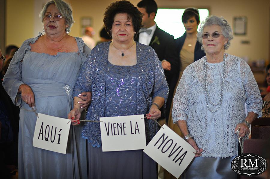 Miami-wedding-grandmothers-walking-down-the-isle-photo