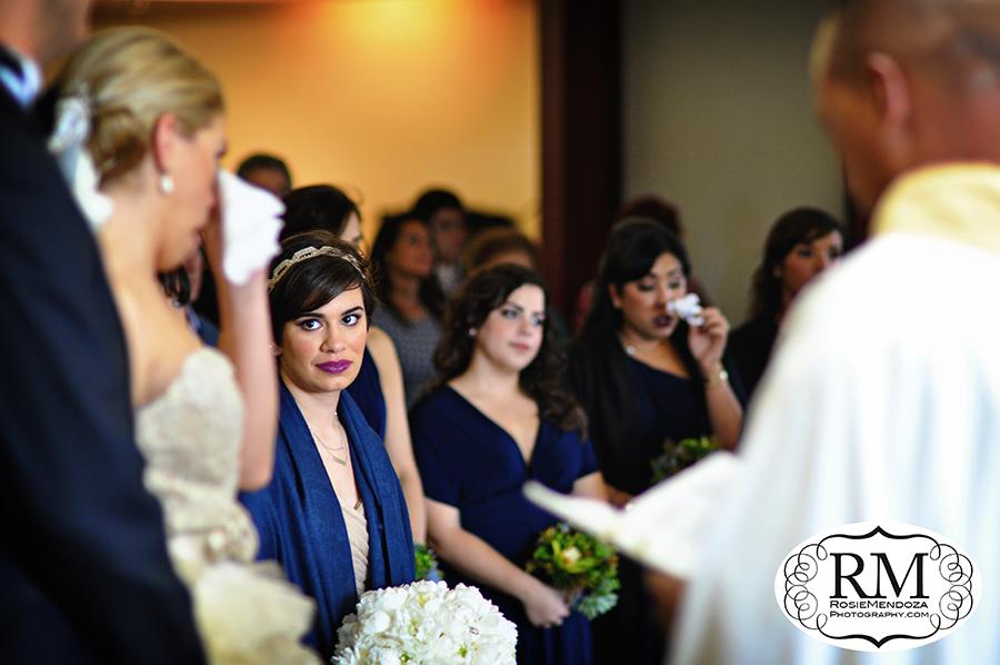 Prince-of-Peace-Catholic-Church-wedding-ceremony-maid-of-honor-photo