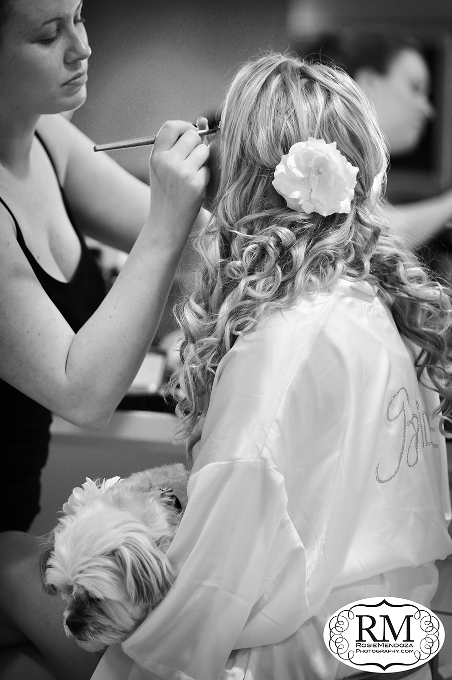 Miami-Newport-Beachside-Hotel-and-Resort-country-style-wedding-bride-makeup-photo