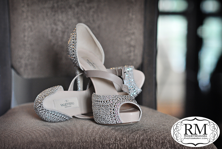 Nothing less than Valentino bridal shoes for the Big Day