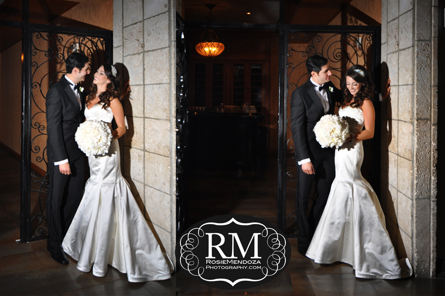 Bride and Groom's portraits around this beautiful venue