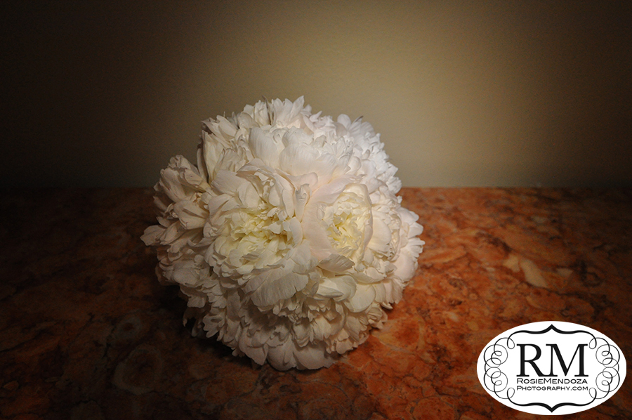 Peonies are the perfect flowers for a bridal bouquet