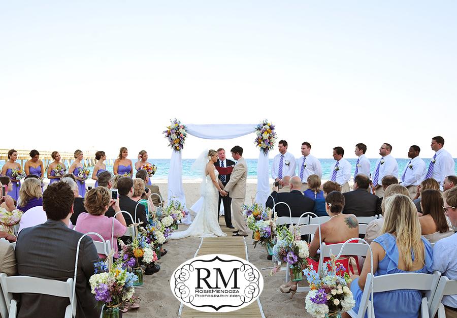 Wyndham-Deerfield-Beach-destination-wedding-ceremony-photo