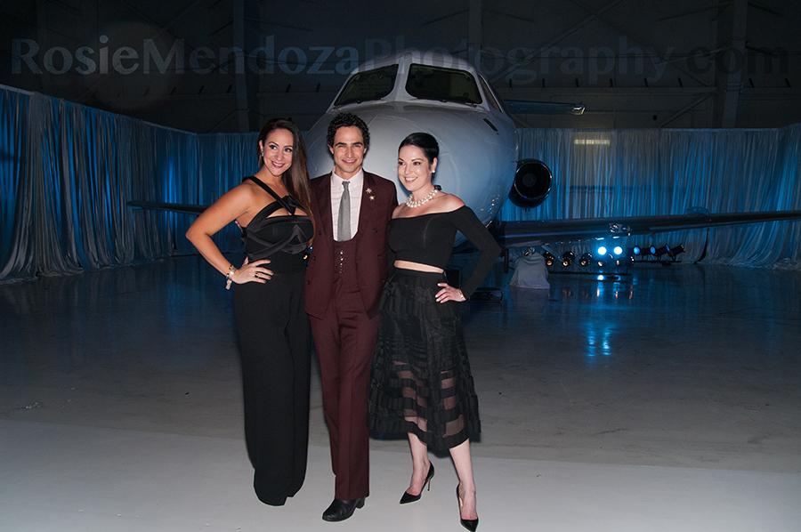 ShuzzCommittee Member Vanessa Reyes, Fashion Designer Zac Posen and Shuzz Founder Rita Johnson Lombardo