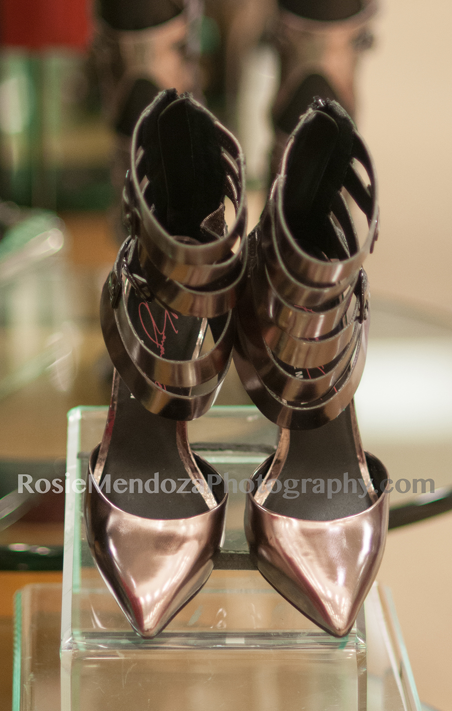 Steve Madden pointed toe pumps DAMAS in pewter
