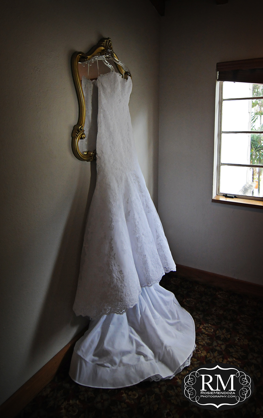 Wedding dress still