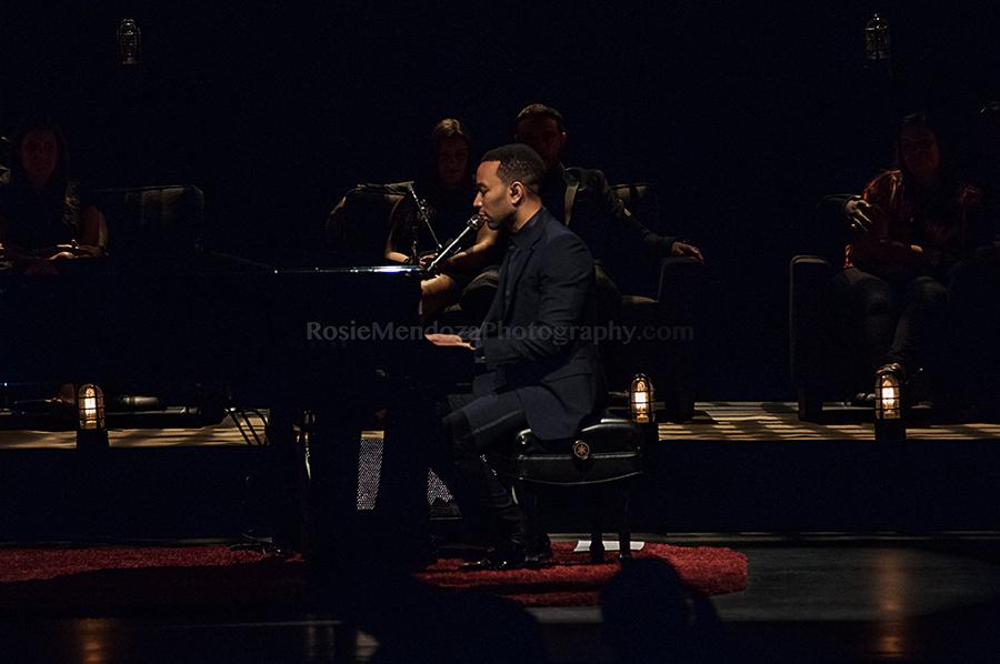 Broward Center for the Performing Art - John Legend Concert - Rosie Mendoza Photography