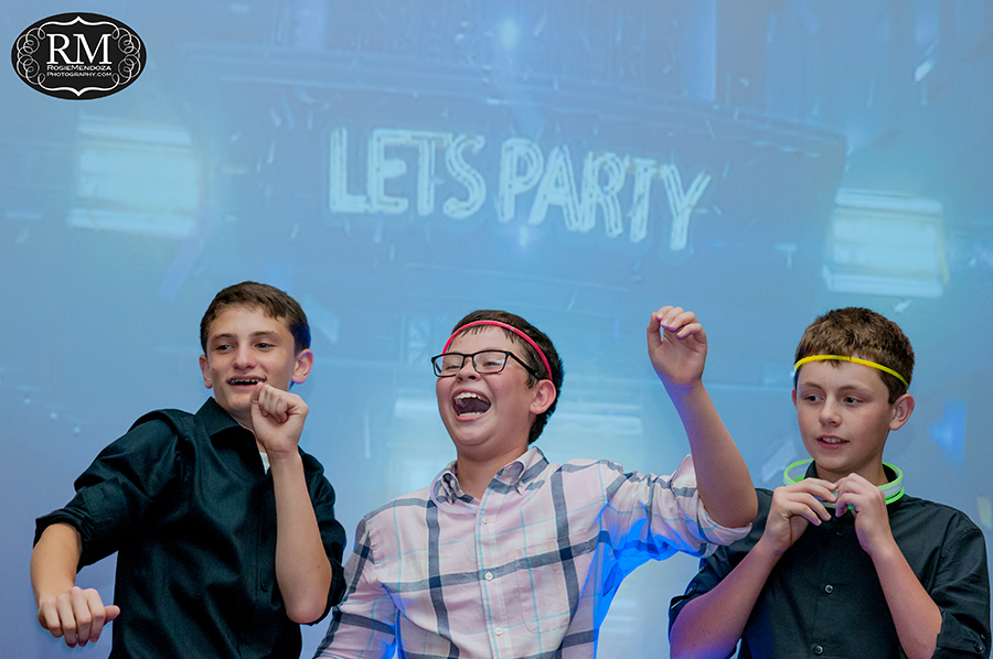 Weston Hills Country Club Bar Mitzvah - Rosie Mendoza Photography