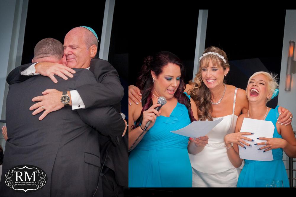 Wedding toasts from their children.
