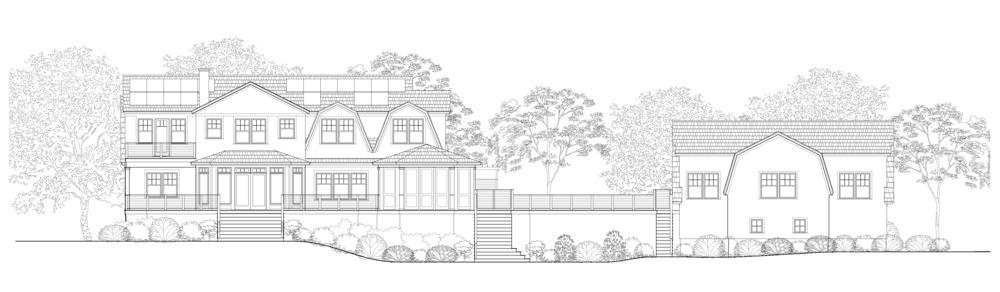 Sunset Green Home Architect's Rendering (W. Heine, 2014)
