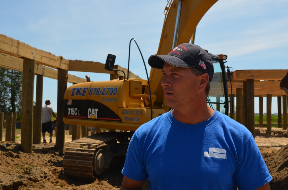 Tom Freund of TKF Excavating and Demolition