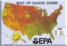 EPA Radon Map