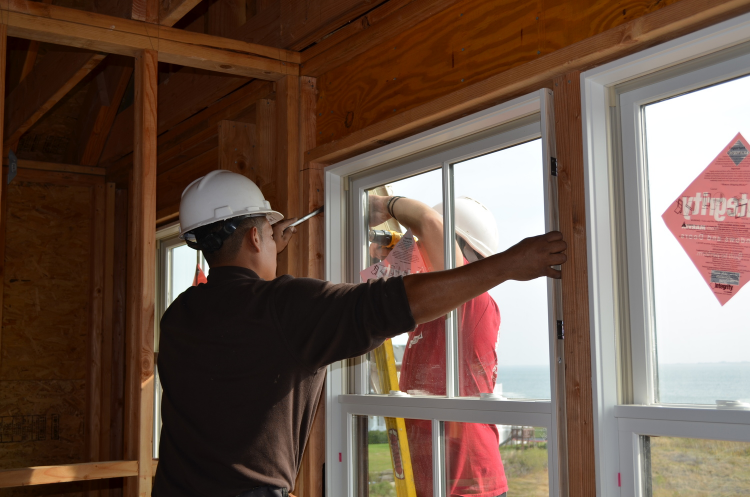 Window Installation on Sunset Green Home