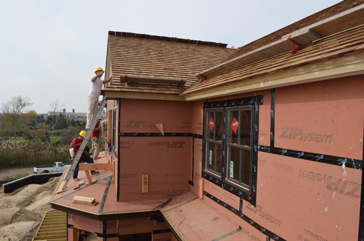Roofers and Window Installers at Sunset Green Home