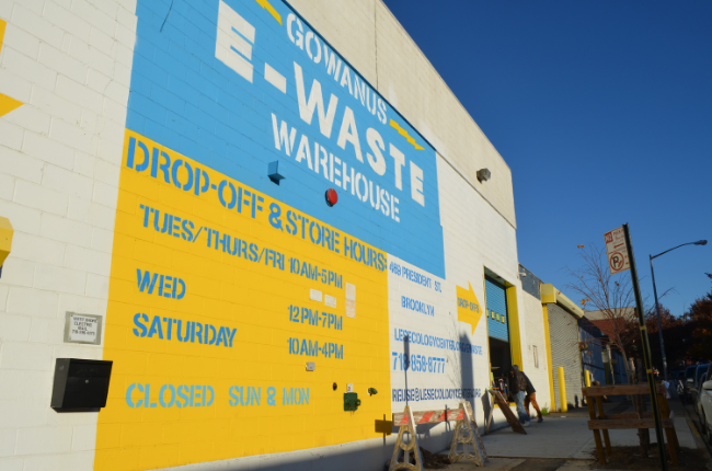 Gowanus e-Waste Warehouse