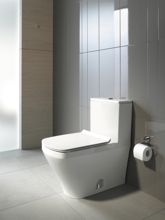Duravit's Durastyle dual-flush toilet.  Image courtesy of Duravit.