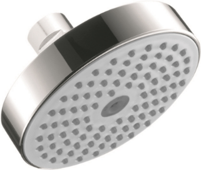 Hansgrohe's Raindance S150 AIR Green showerhead.  Image courtesy of Hansgrohe.