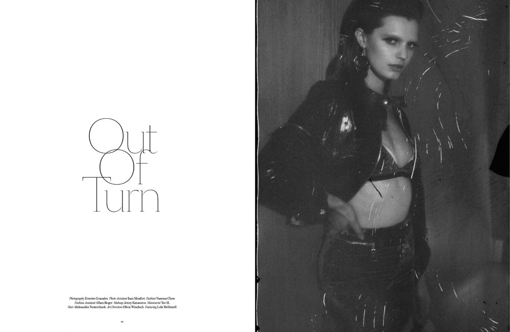 Out of Order Magazine by Ernesto Gonzales
