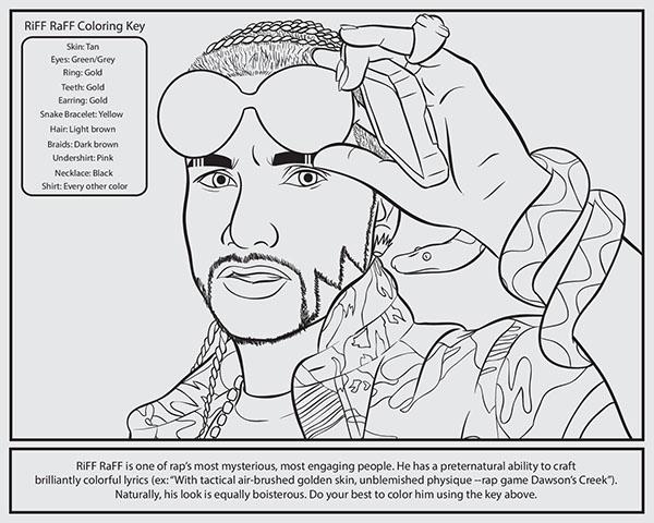 kendrick lamar coloring pages