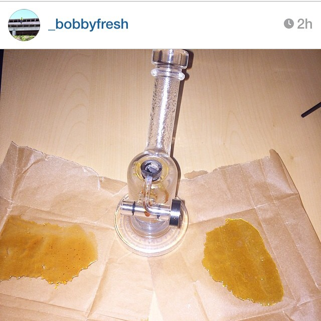 Repost from the sesh with @_bobbyfresh @errlripper today. If you don't know my man @_bobbyfresh and the crazy shit this guy does on 2-wheels then follow for sure. Promise you it's worth a look #dabstothemasses #steephill #livingyourdreams #california #crushmode #cookies #tclabs #tcslabbers #weedstagtam #dabsofig #hashtags #hightimes #hashmastersog #slabatory