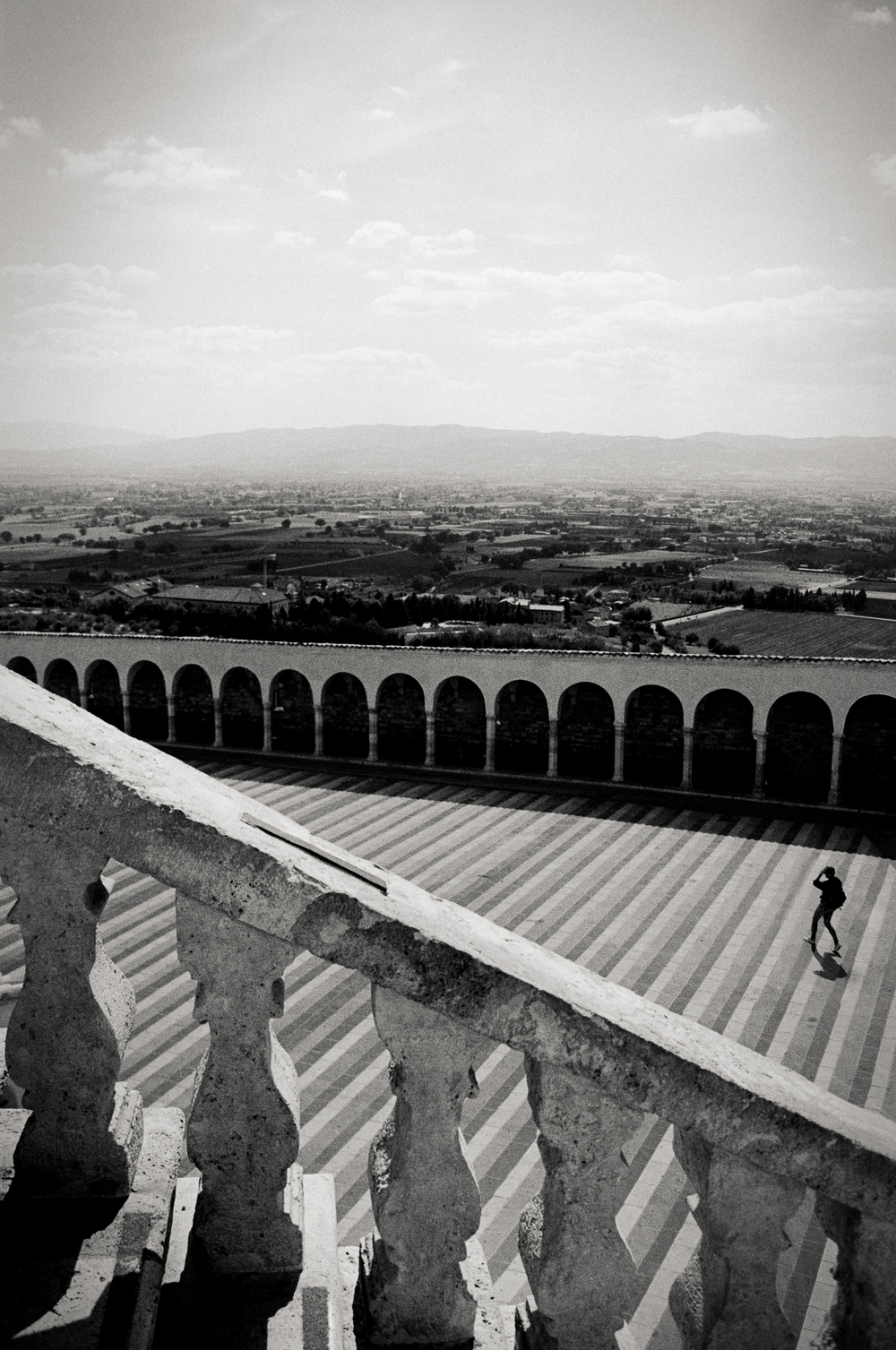 Basilica of Saint Francis, Assisi, Italy 2001.