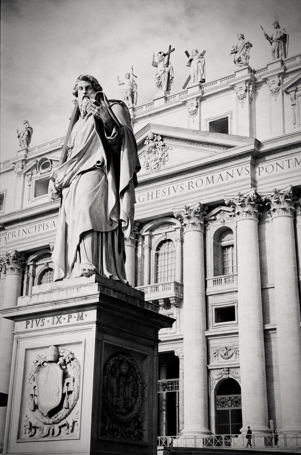 St. Peter's Basilica, Vatican City 2001.