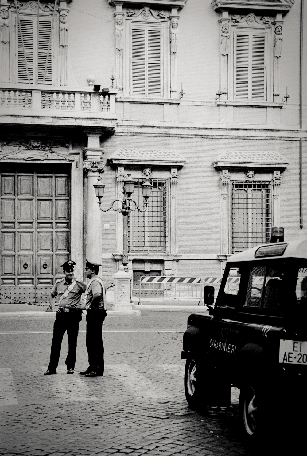2 cops, Florence, Italy 2001.