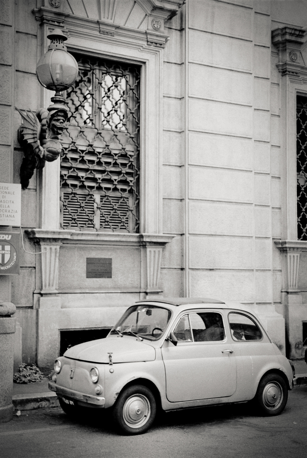vintage Fiat, Florence, Italy 2001.