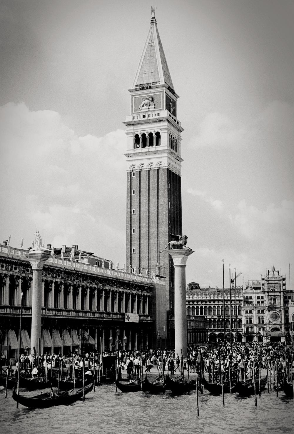 San Marco Campanile, Venice, Italy 2001.