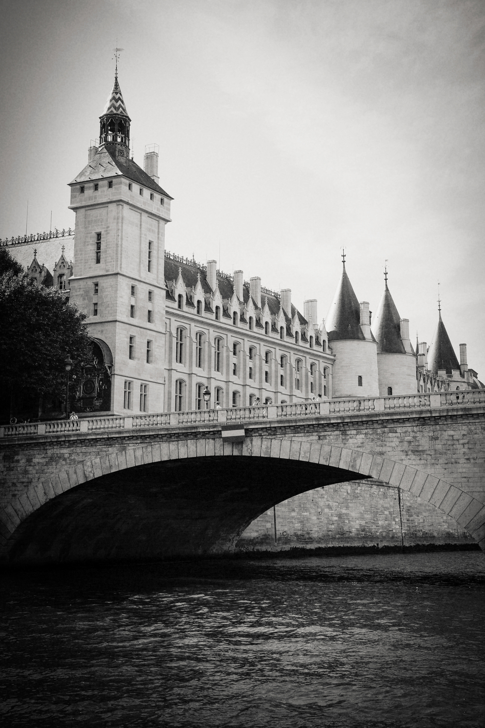 The Conciergerie, River Seine, Paris 2014.
