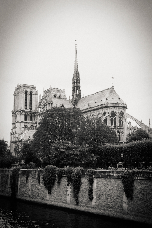 Seine River, Notre Dame, Paris 2014.