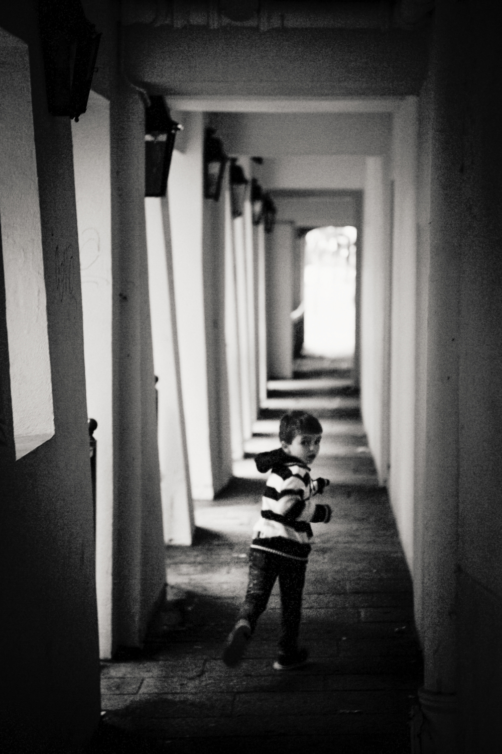 running boy, Paris 2014.