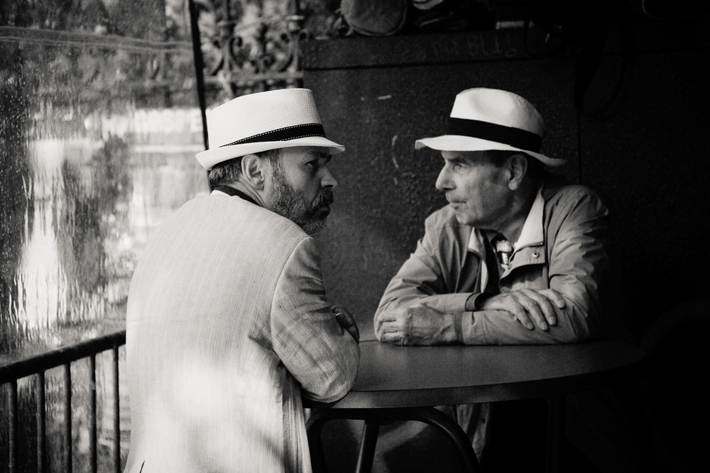 2 men, Paris 2014.