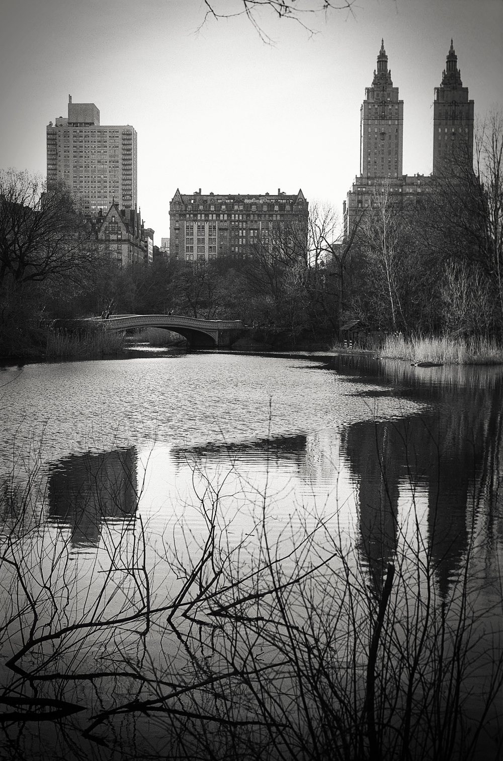 The Ramble and Lake, Central Park, NY 1997.
