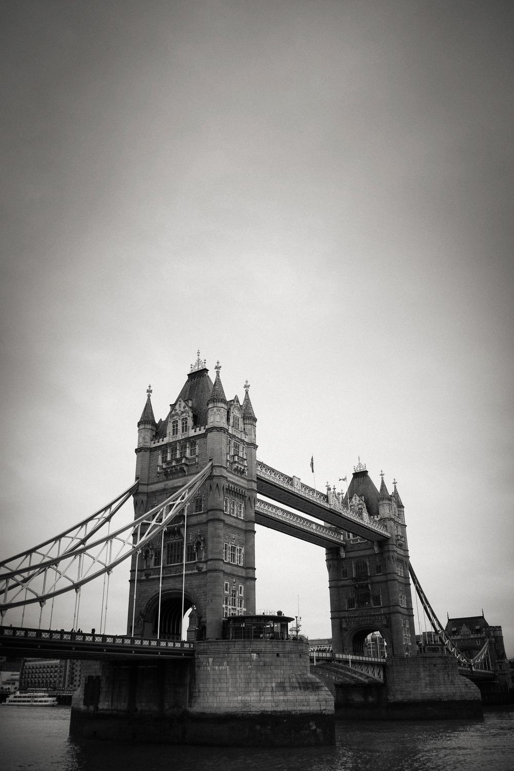 Tower Bridge, London 2013.