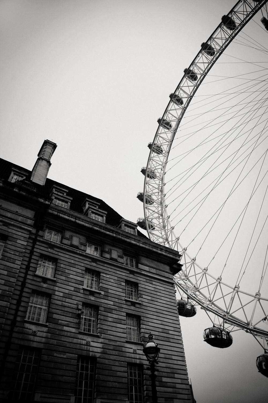 County Hall, London Eye, London 2013.