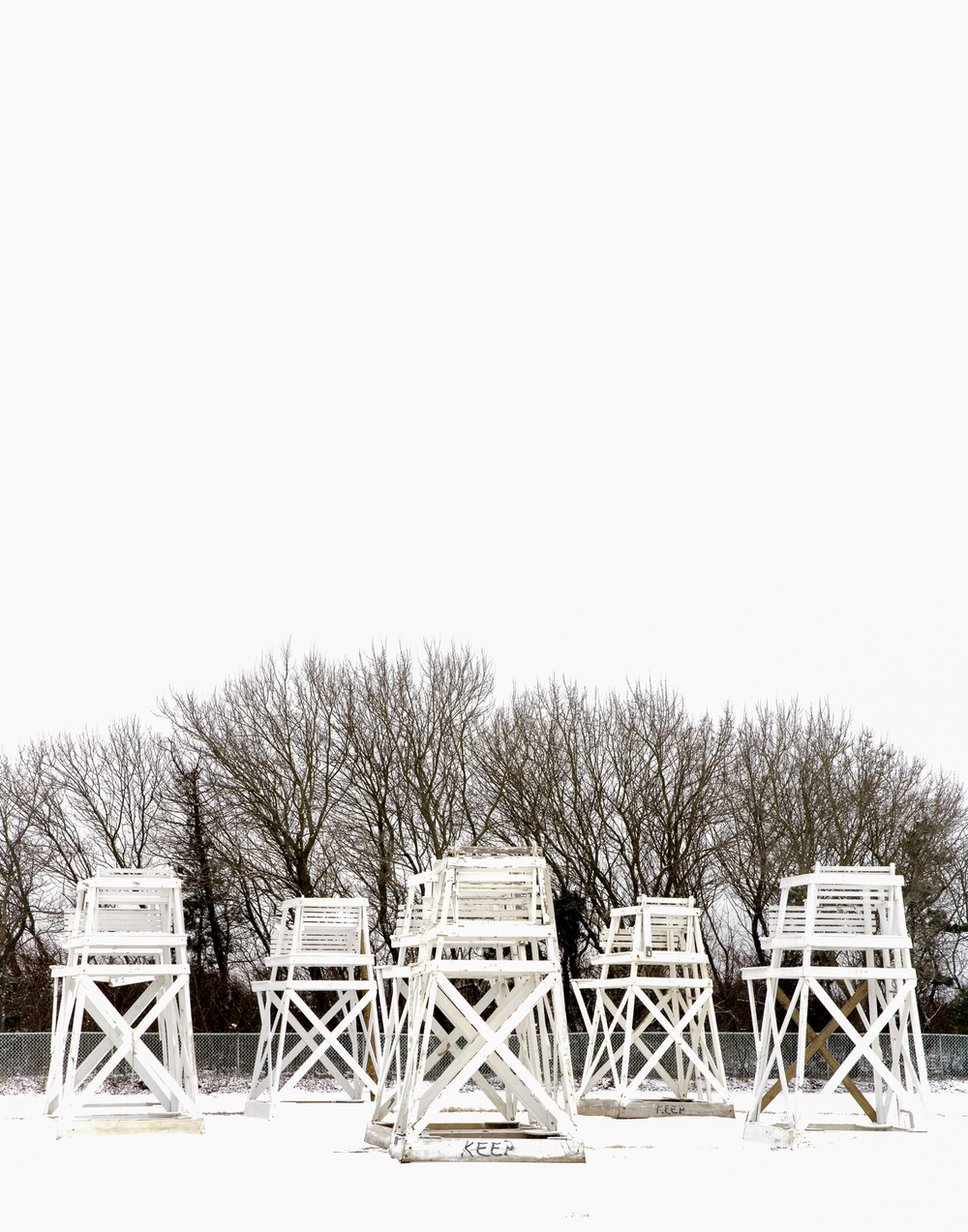 lifeguard chairs, Jones Beach, NY
