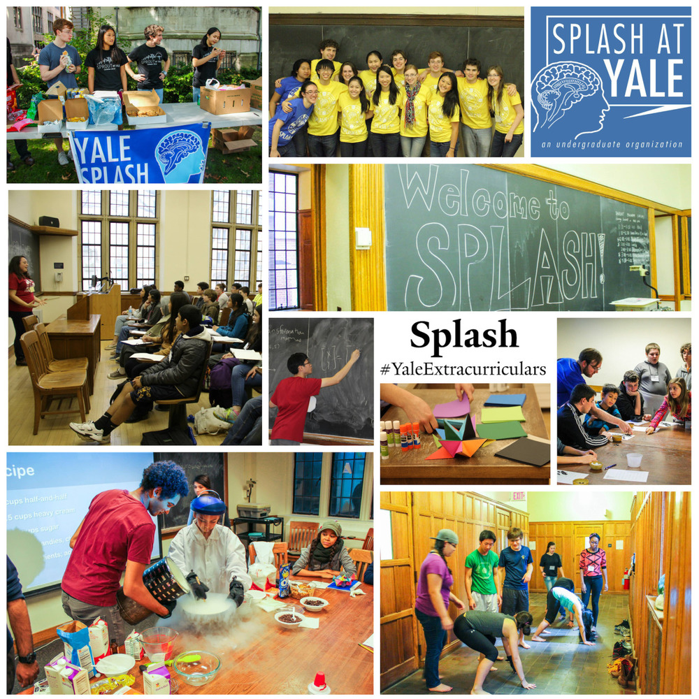 SPLASH AT YALE