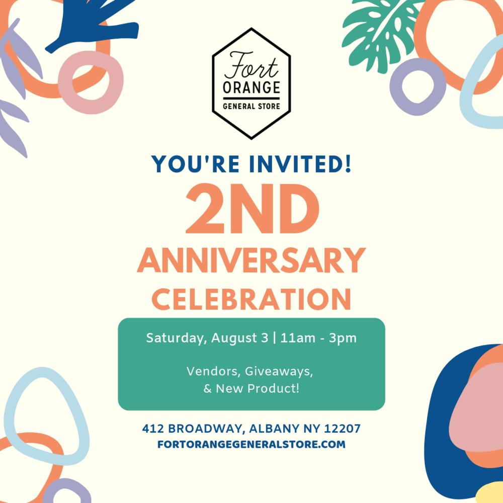 happenings — Fort Orange General Store