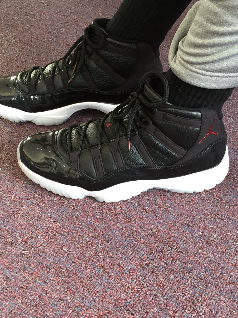 This specific colorway is known as the 72-10. This is because the NBA season of 1996 to 1997 saw Michael Jordan, wearing the Air Jordan 11, and the Chicago Bulls made history with the best season record of all-time at 72-10. They would also win the NBA Finals that year making this shoe and this commemorative colorway special to not only shoe fans, but Bulls fans.