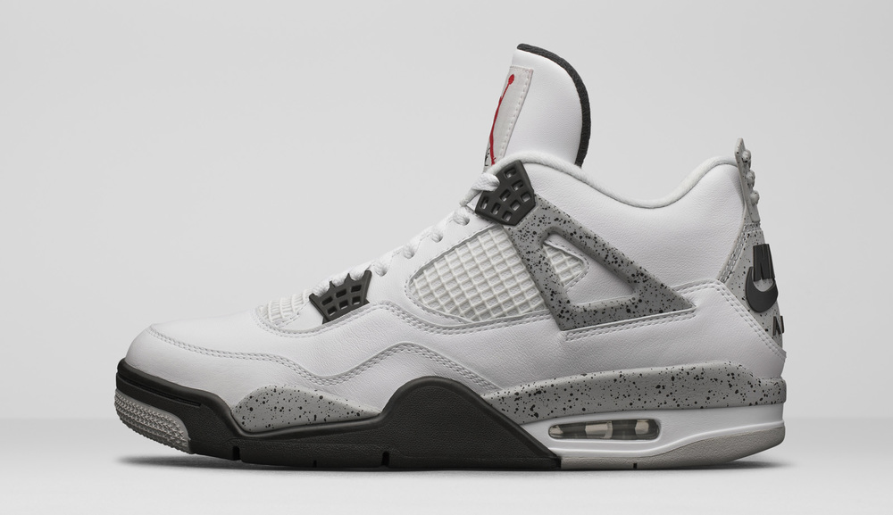 The Jordan IV 'Cement' that dropped February 13th of this year.