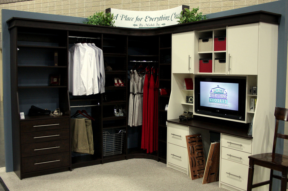 Exceptional With Roots In High End Custom Cabinetry, Our Closet Storage Systems Are A  Step Above The Competition. Where Others Use Standard Parts And Cut  Corners, ...