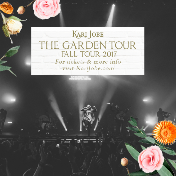 "Kari Jobe - ""The Garden Live""  Engineered, Digital Editing"