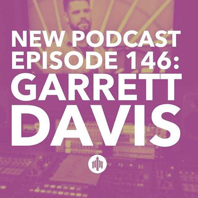 #repost @thechurchcollective ・・・ Podcast Episode 146:  Garrett Davis  In this Episode @chris_bellamy talks to Elevation's @gldavis about recording their live albums as well as working on the newest project from Passion.  Find out the secret to Elevation's monster floor tom sound and how they manage broadcasting with multiple campuses. *Footnote from Garrett- Regarding the Passion album: Sean Moffitt mixed the album.  Sean and Garrett co-engineered the album together.