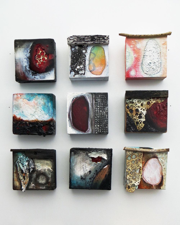 "5"" Fragments, 2017"
