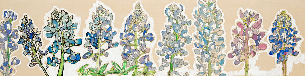 Blue Bonnets Artist Evolution